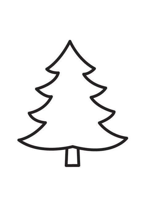 malvorlage tannenbaum ausmalbild 18335