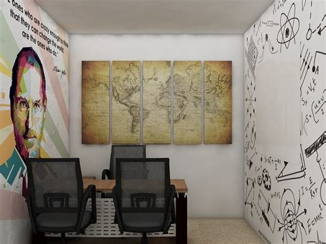 Stylehive Buzz Change Up Your Walls With A Hammer Nails Easy On Carved Wall Panels Fashiontribes Home Decor by These Uber Cool Startup Offices Will Give You Serious