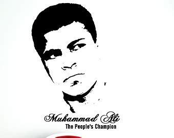 mohammed ali stencil by tbenk491 muhammad ali clip art clipground