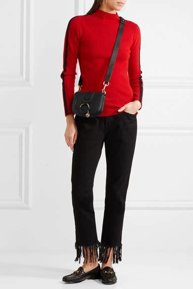 Hana Mini Bag see by chlo 233 hana mini textured leather shoulder bag