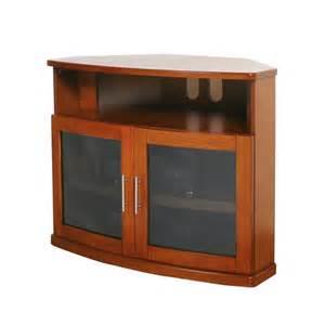 Tv Stands For 40 Inch Tv Newport Walnut 40 Inch Corner Tv Cabinet Plateau Corner Tv