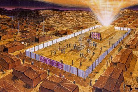 el tabernaculo o tienda de reunion de israel levitas