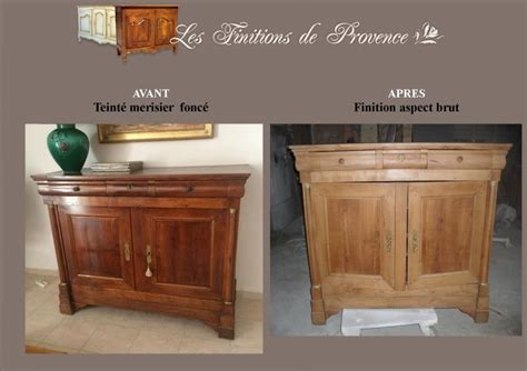 Relooking Meubles Anciens Photo by Meuble Ancien Relook 233 Aspect Brut Bois Clair Finition
