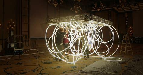 hotel light installation grimanesa 243 s luminous circuitry