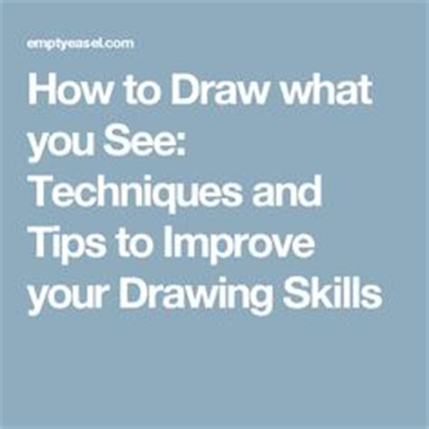 How To Draw What You See lesson ideas sketchbook activities on