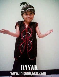 Pakaian Anak Putri 567 pakaian adat dayak anak putri pakaian adat daerah