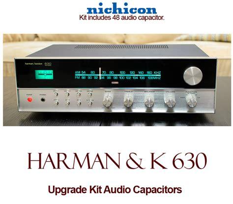 capacitor upgrade harman kardon 630 upgrade kit audio capacitors