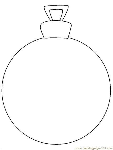 Coloring Pages Ornament Cartoons Gt Christmas Free Ornaments To Color