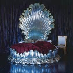 clam shell bed bedroom