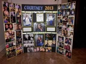Picture Board Ideas Neat Idea For Graduate Collage Cris Graduation Party