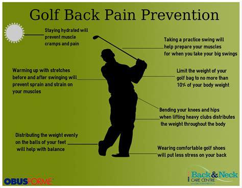 back pain from golf swing better golf visit your shakopee chiro shakopee mn