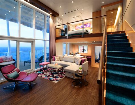 two bedroom aquatheater suite with balcony on harmony of harmony of the seas and it s magnificent suites