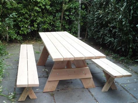 how to build picnic table bench picnic table with separate benches