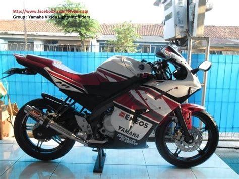 Modip Sepeda Motor by Pertamax7 Modifikasi Yamaha New Vixion Fairing Model