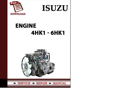 small engine repair manuals free download 1998 isuzu oasis security system isuzu engine 4hk1 6hk1 workshop service repair manual pdf downloa