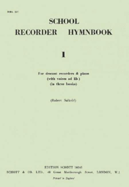 Salkeld School Recorder Hymn Book 1 Sheet Music By Robert