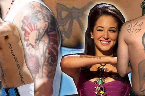 worst celebrity tattoos cheryl cole tulisa jessica alba