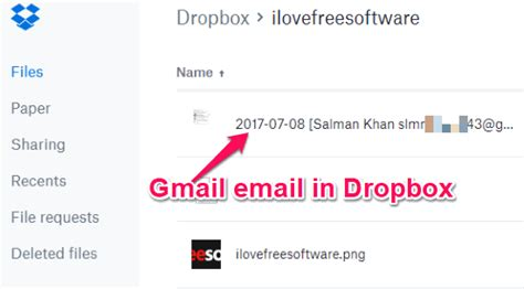 dropbox gmail login how to save gmail emails to dropbox