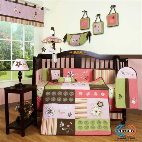 Where To Buy Crib Bedding by Price Compare Boutique Floral 13pcs Crib Bedding Set