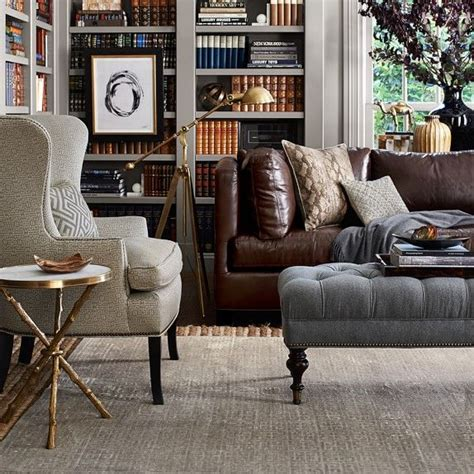 chairs with ottomans for living room leather sofa with ottoman sofa lloyd flanders great unique