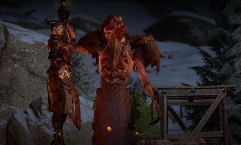 qunari tattoo dragon age inquisition playing a qunari in dragon age inquisition is the worst nag