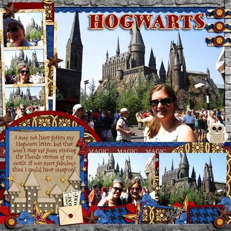 layout harry harry potter scrapbook page scrapbooking ideas pinterest