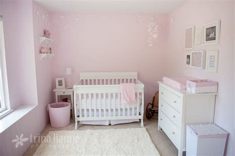 pink and white nursery simple pink and white girl nursery project nursery