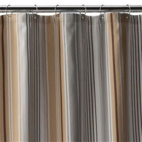 brown and grey shower curtain monogrammed shower curtain brown on popscreen