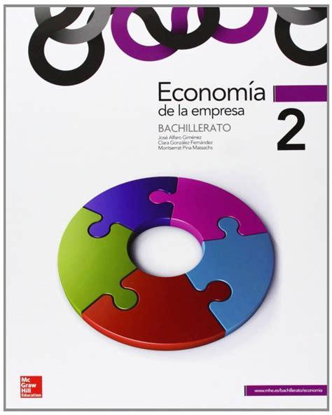 libro economa 2 bachillerato econom 205 a de empresa 2 186 bachillerato 5 de descuento aplicado en el precio