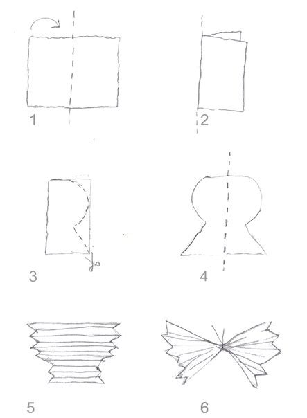 Folded Paper Template - folded paper butterfly template 28 images free free
