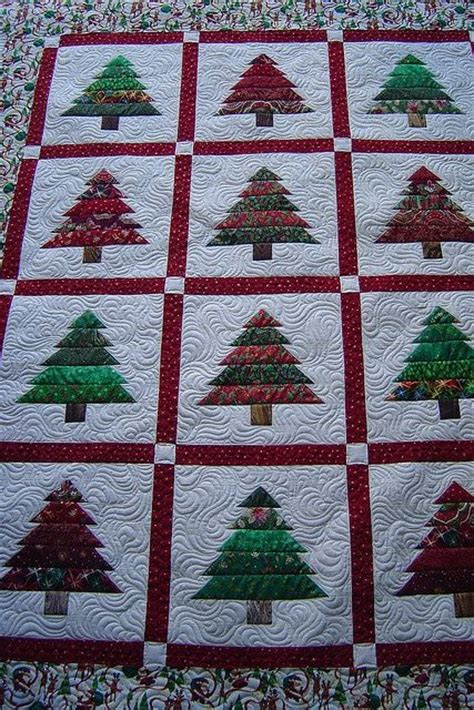 pattern for christmas tree quilt christmas tree quilt quilting pinterest