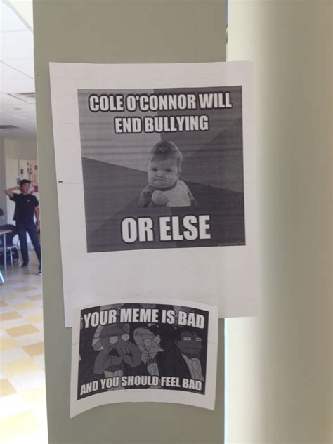 A kid at my high school is running for school president