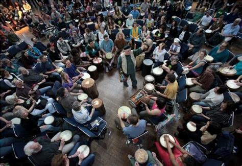 rhythm path drum circle seattle center hosts world rhythm festival axs