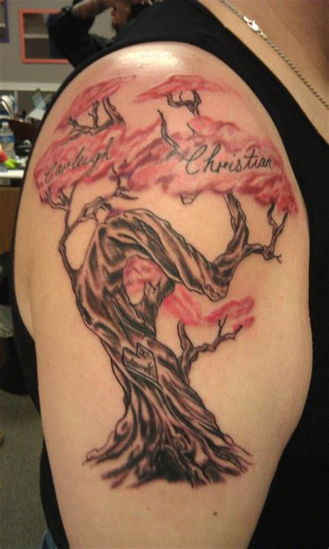 family tree tattoo design tribal tattoos designs family tree tattoos ideas
