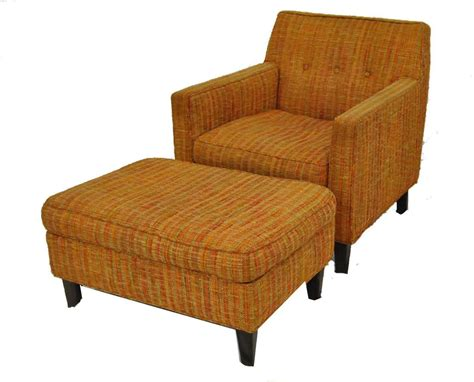 mid century chair and ottoman frasesdeconquista