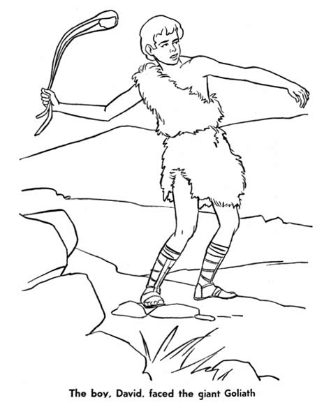 david bible coloring pages az coloring pages
