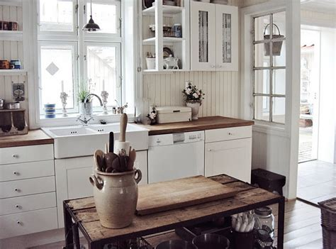 rustic white kitchen rustic kitchen from norway kitchens pinterest