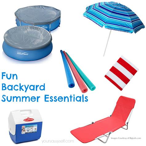 backyard essentials backyard pool archives your sassy self