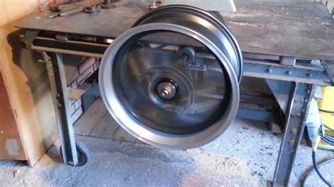 Polieren Mit Maschine by Wheel Polishing Machine Diy Youtube