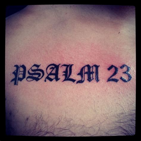psalm 23 tattoo designs psalm 23 designs