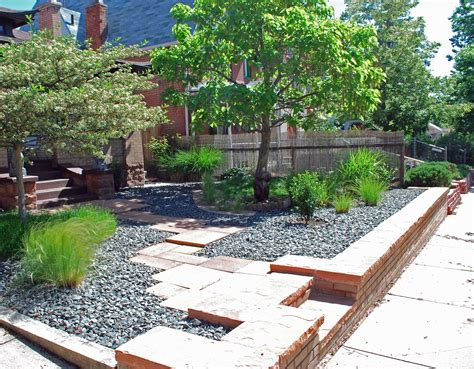low maintenance backyard design slightly garden design landscape garden design ideas low