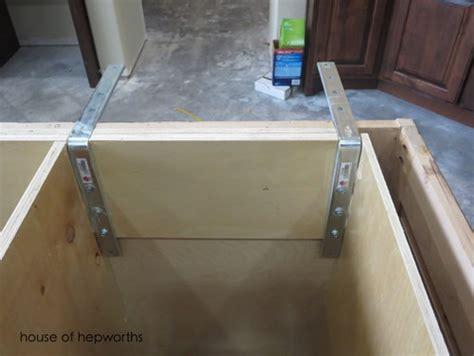 countertop overhang support 15 quot granite counter overhang supports