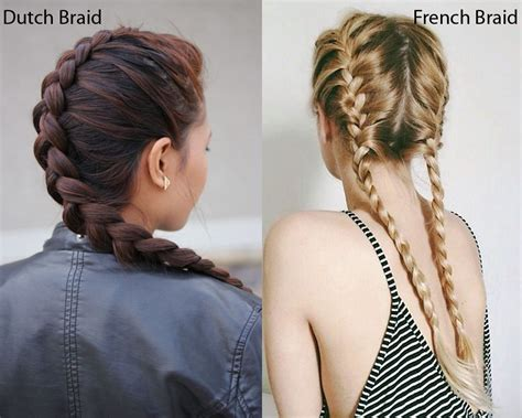 plait styles vs different plaits dutch braid vs french braid ilookwar com