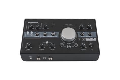 Big Knob Audio by Mackie Big Knob Studio Monitor Controller 2x2 Usb Audio