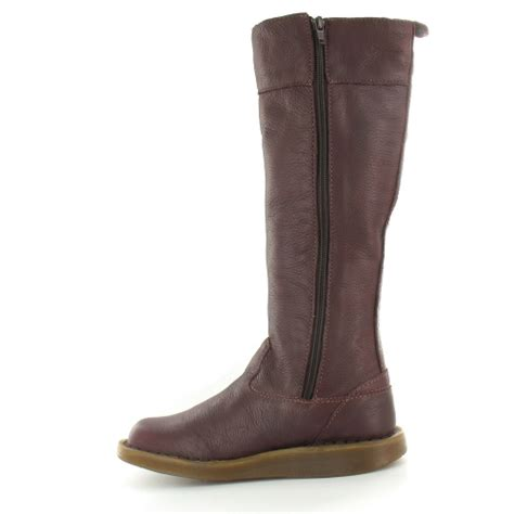 dr martens dr martens womens leather knee high zip