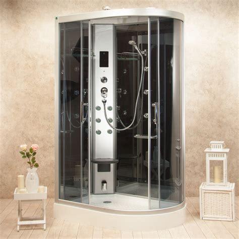 box doccia sauna bagno turco box doccia idromassaggio atene 120x80 sinistro sauna bagno