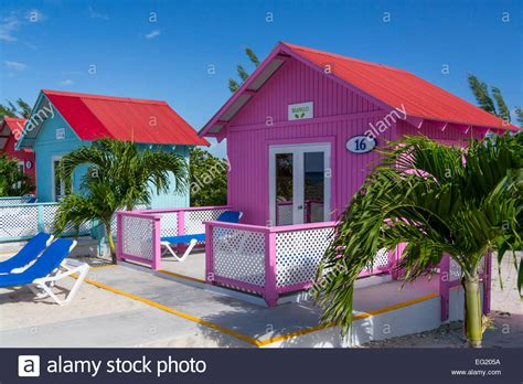 colorful beach cottages for rent on princess cays bahamas