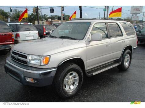 2000 Toyota 4runner Limited Desert Dune Pearl 2000 Toyota 4runner Sr5 Exterior Photo
