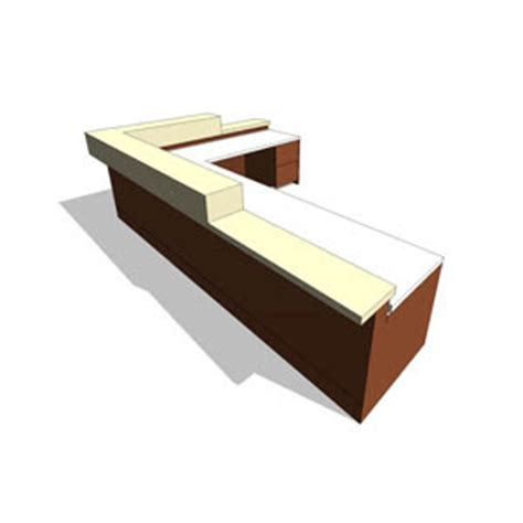 revit reception desk revit components free family reception desk