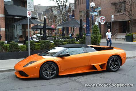 Lamborghini Toronto Lamborghini Murcielago Spotted In Toronto Canada On 04 08